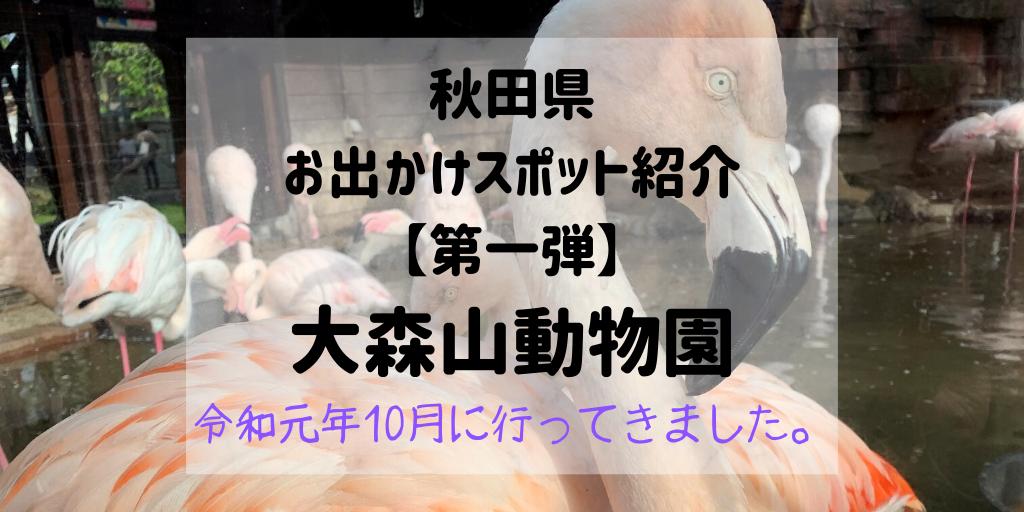 秋田県お出かけスポット 大森山動物園
