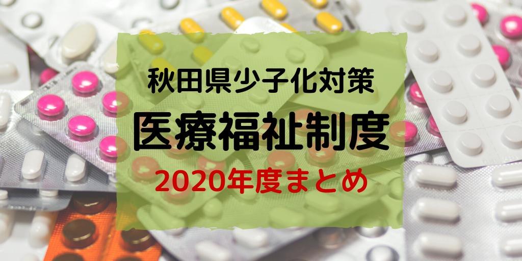 2020年秋田県医療費